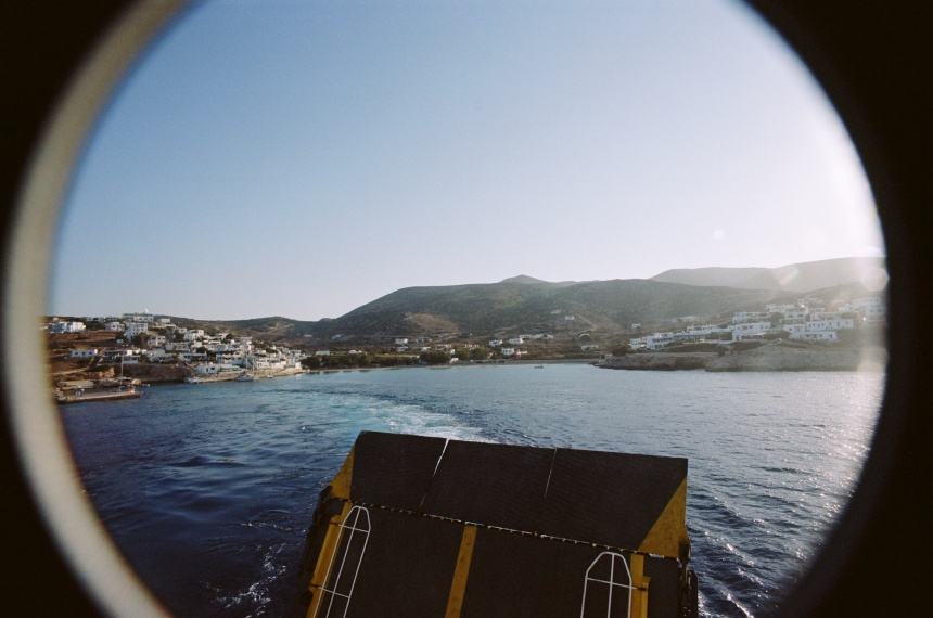 Donoussa petites cyclades grèce ferry